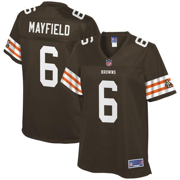 Women's Cleveland Browns Baker Mayfield NFL Pro  cheap jersey from chinaski