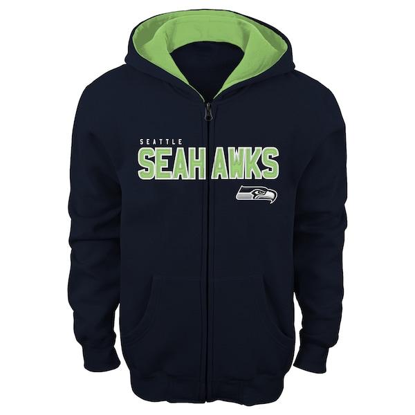 Youth Seattle Seahawks College Navy Fan Gear State Everett road jersey