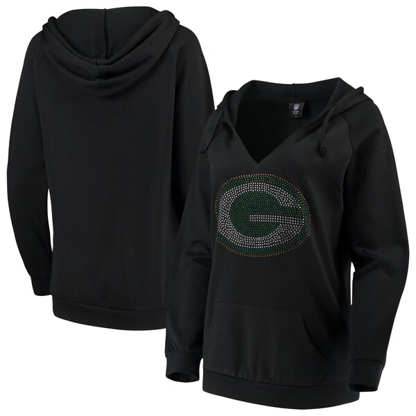 Women's Green Bay Packers Cuce Black Huddle Up Pul nhl jersey chip