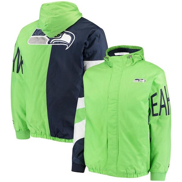 Men's Seattle Seahawks Starter Neon Green/College  Nationals jerseys
