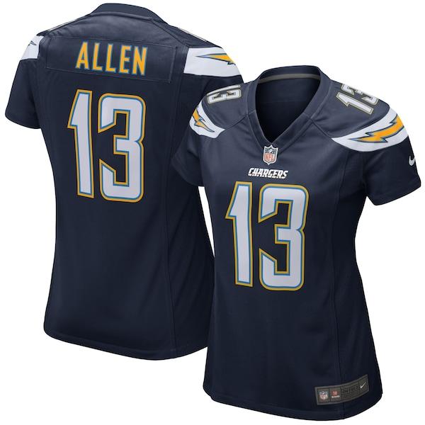 Women's Los Angeles Chargers Keenan Allen Nike Nav nfl breast cancer awareness jerseys