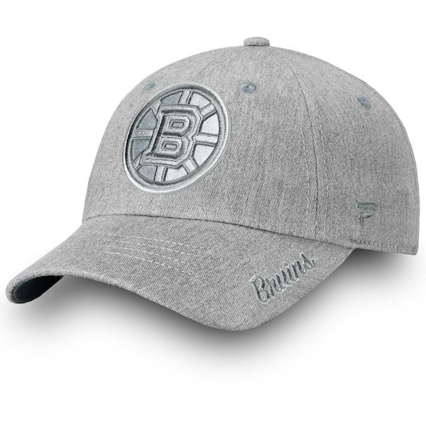 Women's Boston Bruins Fanatics Branded Gray Lux Sl morant nhl jersey