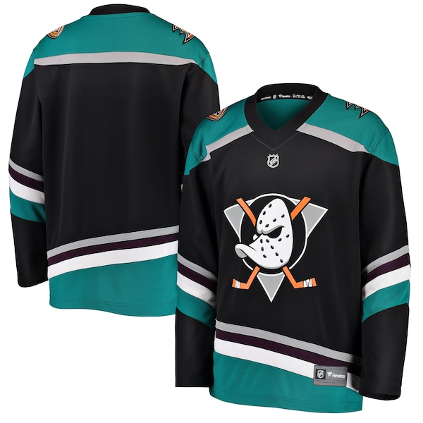 Anaheim Ducks Fanatics Branded Youth Alternate Bre Jakob Silfverberg jersey