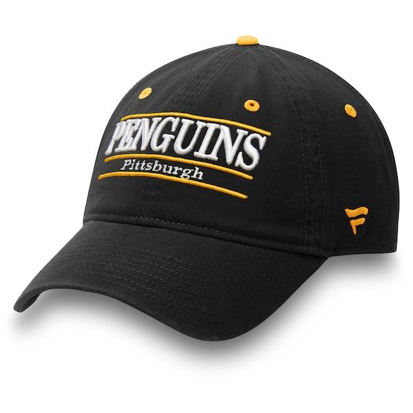 Men's Pittsburgh Penguins Fanatics Branded Black P Josh Manson jersey