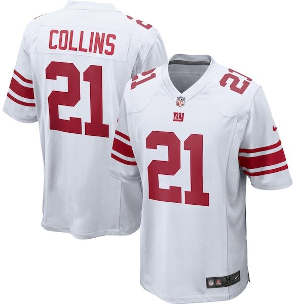Men's New York Giants Landon Collins Nike White Ga John Ursua jersey