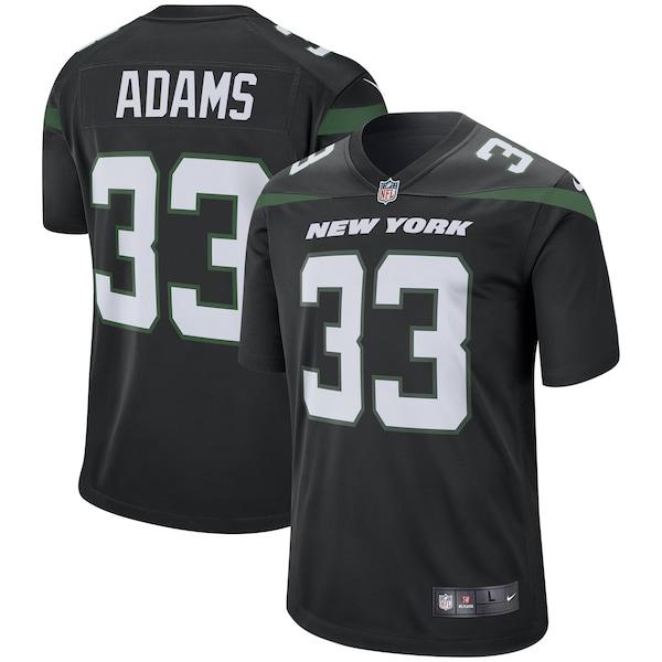 Men's New York Jets Jamal Adams Nike Stealth Bla Carl Gunnarsson jersey