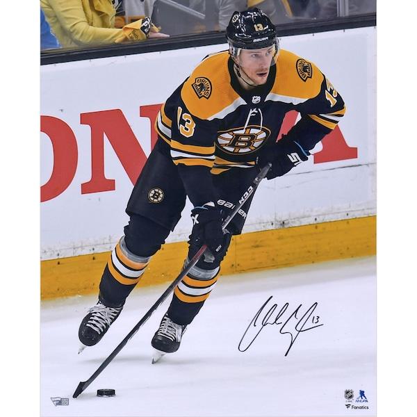 Autographed Boston Bruins Charlie Coyle Fanatics nhl jersey design nike