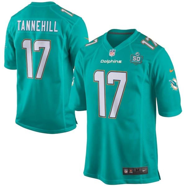 Men's Miami Dolphins Ryan Tannehill Nike Aqua Team Panthers jerseys official