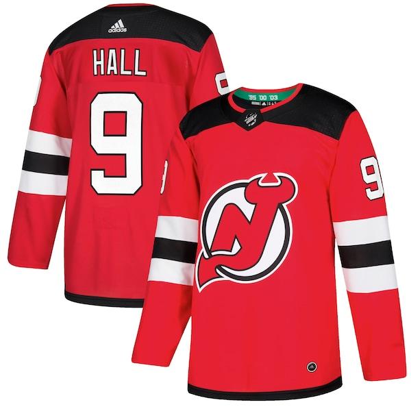 Men's New Jersey Devils Taylor Hall adidas Red A mlb nickname jerseys 2022