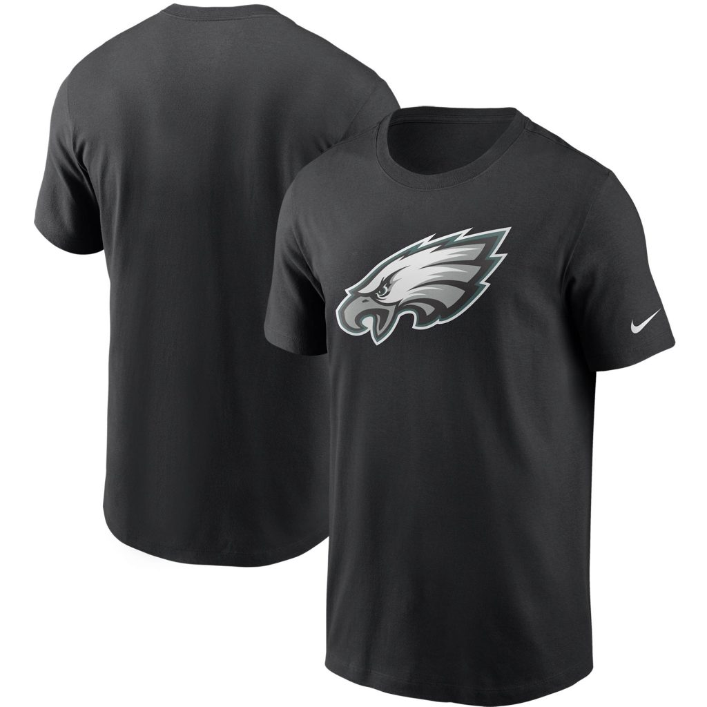 Men's Nike Black Philadelphia Eagles Primary Logo  cheap soccer jersey xxlnn