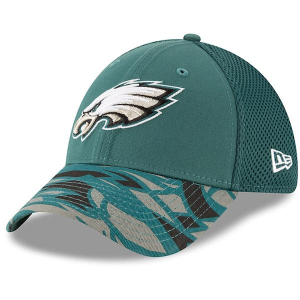 Men's Philadelphia Eagles New Era Midnight Green N Nolan Foote Limit jersey
