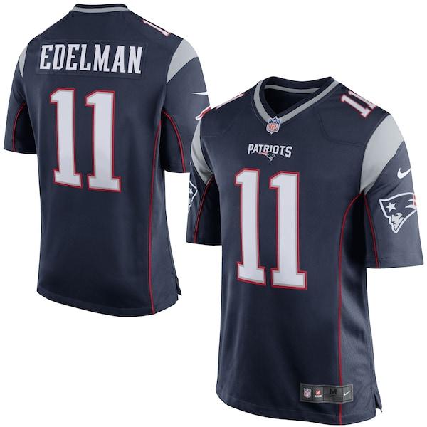 Men's New England Patriots Julian Edelman Nike N Johnny Hekker jersey