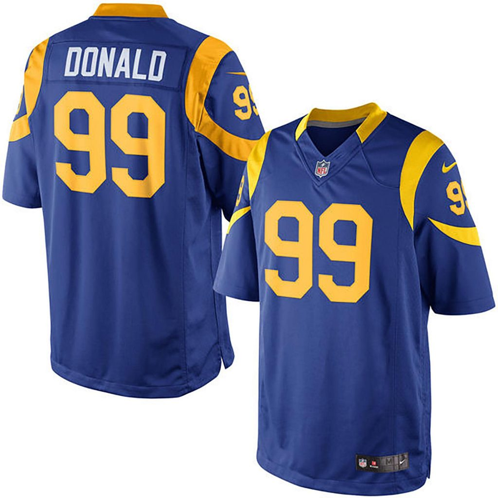 Los Angeles Rams Alternate Game Jersey - Aaron Do Michael Dickson game jersey