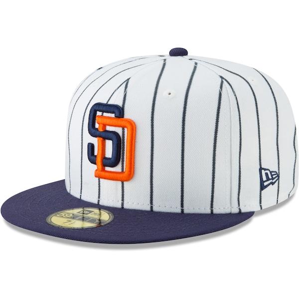 Men's San Diego Padres New Era White Cooperstown C city jerseys nfl