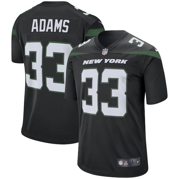 Men's New York Jets Jamal Adams Nike Stealth Bla nfl shield jersey patch