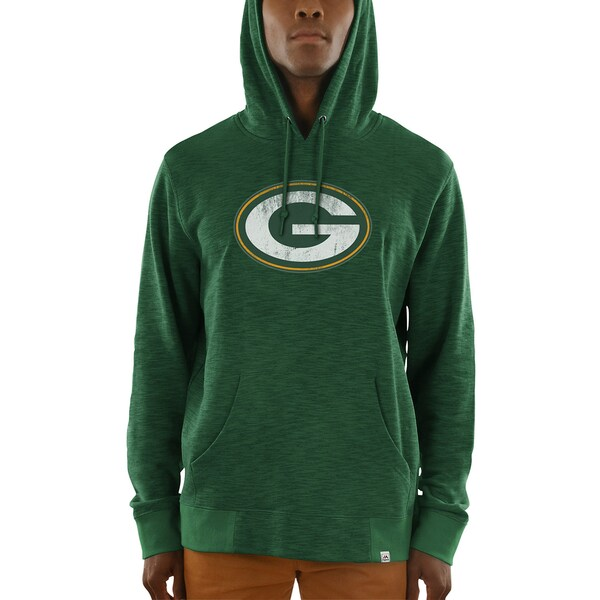 Men's Green Bay Packers Majestic Green Game Day Cl Younghoe Koo jersey