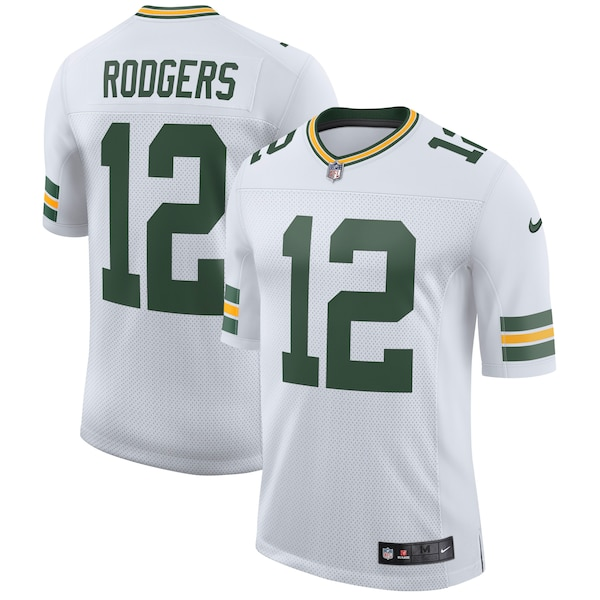 Men's Green Bay Packers Aaron Rodgers Nike White Marquez Valdes-Scantling jersey