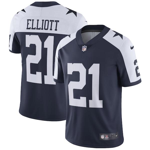 Men's Dallas Cowboys Ezekiel Elliott Nike Navy A 2022 20 nfl jerseys